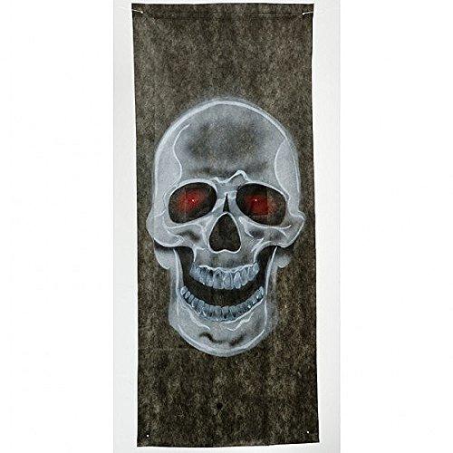 Totenkopf-Türvorhang