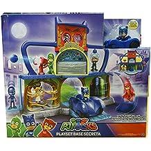 PJ Masks - Playset base secreta, versión en Castellano (Bandai 24561)