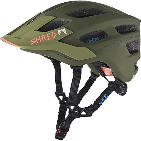 Shred casco Short Stack Woodland, Unisex, Helm Short Stack Woodland, Verde militare, XS / S