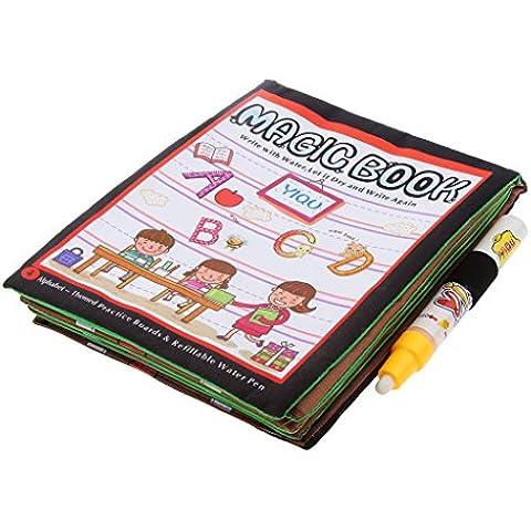 Juegos de Aprendizaje Pintura Magia Carta Casero Paño de Agua Lona Niños