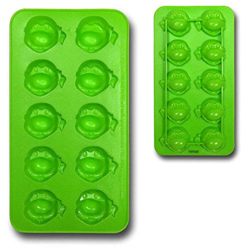 Image of Teenage Mutant Ninja Turtles Turtle Face Ice Cube Tray