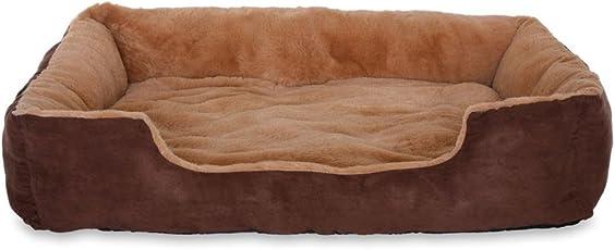 dibea - Hundebett - Hundekissen - Hundesofa mit Wendekissen (Größe und Farbe wählbar)