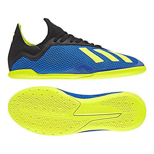 adidas Unisex-Kinder X Tango 18.3 In J Futsalschuhe, Blau (Fooblu/Amasol/Negbás 000), 29 EU