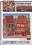 "Aue-Verlag 9 x 9 x 18 cm, modello ""Old Town Set Kit (3 pezzi)"