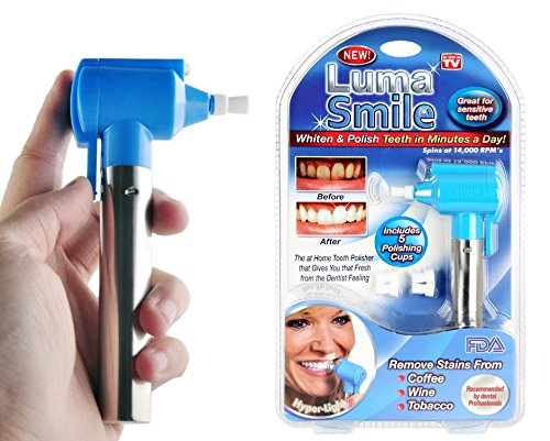 D PEX New Luma Smile Home Tooth Polisher Removes Stains for long lasting Results