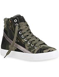 Suchergebnis auf Amazon.de für  Camouflage - Sneaker   Damen  Schuhe ... 9ddca0d052