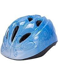 Babimax Cascos de Bicicleta para Infantiles Casco Seguridad de Ciclismo al Aire Libre (Azul)