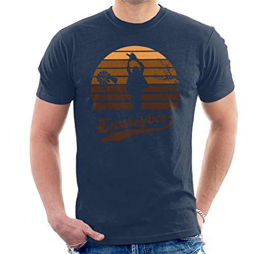 Texas T-shirt Chainsaw (Texas Chainsaw Massacre Leatherface Sunset Men's T-Shirt)