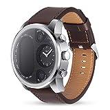 Montre Double Affichage Intelligent pour Bracelet de Remise en Forme Smartwatch de traqueur d'activité d'hommes en Attente pour l'affaire de l'eau de Preuve