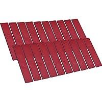 20 Piezas de Almohadillas de Espuma Adhesivas de Doble Cara para Fijar Placa de Número Placa de Licencia de Coche