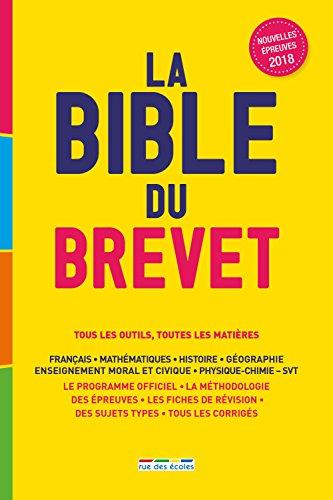 La Bible du brevet 2018