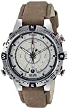Timex Intelligent Quartz Compass Chronograph Off-White Dial...