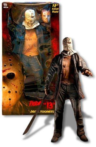 48cm Freitag der 13. Actionfigur Jason Voorhees (Original Maske Voorhees Jason)