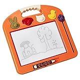 Tavolo da disegno per bambini tavolo da disegno per bambini di 1-3 anni lavagna magnetica lavagna per bambini di moda per bambini giocattoli per bambini ( Color : Orange )