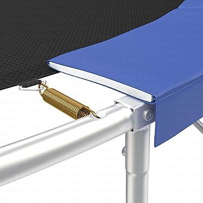 Ampel 24 Trampolin Randabdeckung | Ersatzteil reißfest & UV-beständig | Federabdeckung grün oder blau | passend für Ø 305 / 366 / 396 / 430 / 460 / 490 cm von Ampel 24