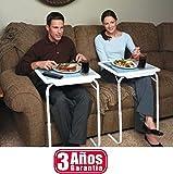 Tu compra perfecta 2017 Table Mate Mesa Auxiliar 3 AÑOS DE Garantia Bandeja para Cama Sofa Ordenador Mesa Plegable Regulable EN 6 Alturas 3 ANGULOS Distintos
