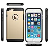 Coque Etui Armor Antichoc Solide et Rigide pour Iphone 5C Gold Doré [Protection...