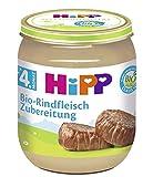 Hipp Bio-Rindfleisch Zubereitung, 6er Pack (6 x 125g)