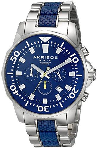 Akribos XXIV Reloj de cuarzo Man AK561BU 49 mm