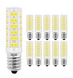 LED Lampe E14,MENTA, 7W Ersatz für 60W Halogen Lampen Kaltweiß 6000K, E14 LED Birnen 450lm AC220-240V, Globaler 360° Abstrahlwinkel, 10er Pack