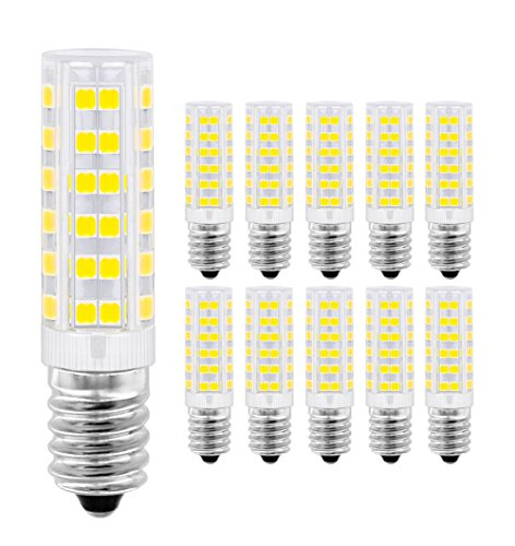 LED Lampe E14,MENTA, 7W Ersatz für 60W Halogen Lampen Kaltweiß 6000K, E14 LED Birnen 450lm AC220-240V, Globaler 360° Abstrahlwinkel, 10er Pack -