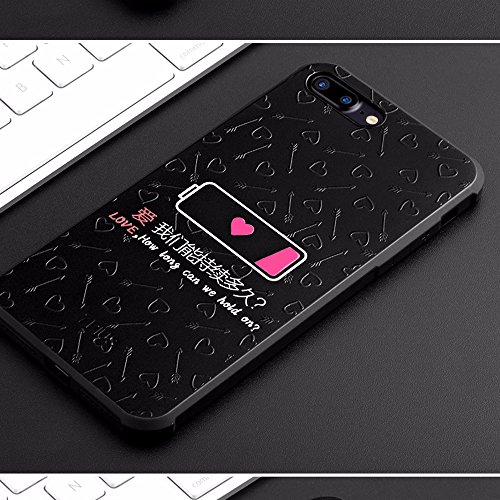 UKDANDANWEI Apple iPhone 7 [QKS] TPU 3D Handyhülle Schutzhülle Silikon kratzfeste stoßdämpfende Case für Apple iPhone 7 - Stil(05) Stil(07)
