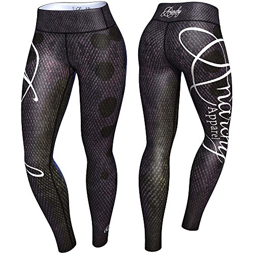 anarchy-apparel-leggings-anaconda-fitness-pants-wear-mma-hosen-muay-thai-gre-l