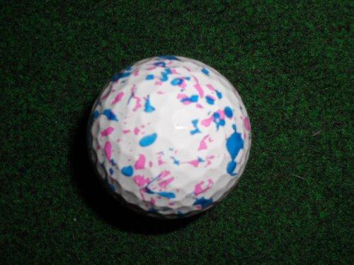 Générique Jaune sur Le thème de confettis Balle de Golf Excellent Cadeau.