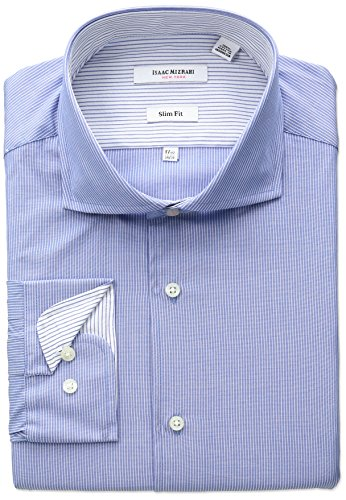 isaac-mizrahi-mens-slim-fit-fine-stripe-cut-away-collar-dress-shirt-blue-155-neck-32-33-sleeve