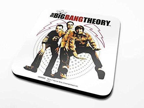 Empire Interactive The big Bang Theory-fisheye-Dessous de Verre-Dimensions 10 x 10 cm