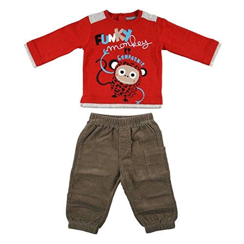 Petit Béguin - Ensemble bébé garçon Tshirt + Pantalon Thais - Taille - 6 mois (68 cm)