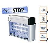 Insektenvernichter mit 2 UV-Lampen á 6 Watt, Wirkungskreis bis 30 m²