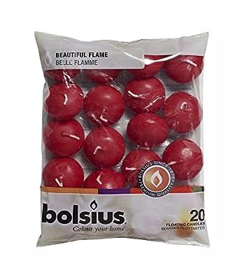 Bolsius Schwimmkerzen in Bag Set von 20und Geschenk