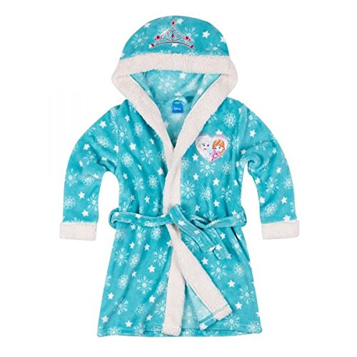 Disney El reino hielo Chicas Bata baño capucha Coral