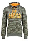 Alpha Industries Herren Hoodies Foam Print Camouflage 3XL