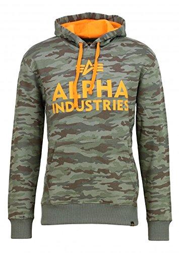 Alpha Industries Herren Sweatshirt oliv XL