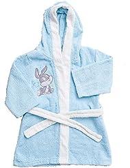 Peignoir Coton pour Enfant Looney Tunes bleu de 1à 6ans * 13147