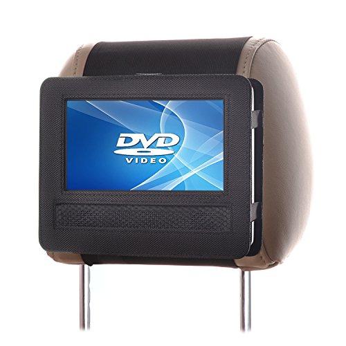 Auto Kopfstützenhalterung für 7 Zoll DVD-Player mit Neigungs- und Schwenkfunktion Kfz Halterung Kopfstütze - von TFY (Dvd Player Kopfstütze Halterung 7 Zoll)
