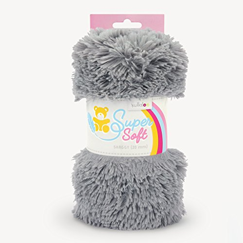 Kullaloo Super Soft Shaggy Pack Peluche 20mm plástico