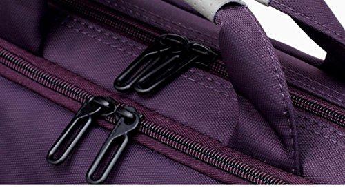 Laptop-Tasche Portable Schulter Business Mode Umhängetasche 14 Zoll 15 6 Zoll 17 3 Zoll Laptop 4 Farben Purple