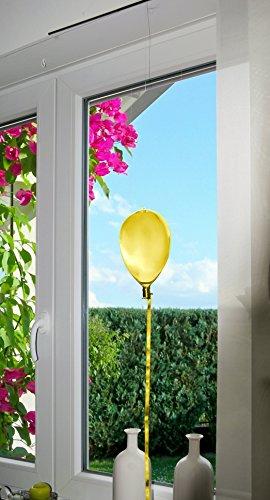 Deko Glas Ballon Gelb 22 cm Glasballon Hänger Deko Hängedeko