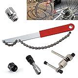 JUEYAN 5 in 1 Fahrrad Werkzeug Reparatur Set Kurbelabzieher + Tretlager/Innenlager