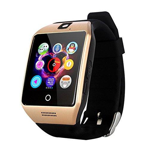 GreatCool Gebogene Bildschirm NFC Smartwatch Uhr Handy Unabhängige Armband Intelligente Uhren Unterstützung Facebook Twitter ...