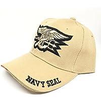 Militar-TLD Gorra béisbol táctica de élite de estilo militar ejercito caza airsoft Viper, hombre, marrón, talla única Envio 24 horas (Navy Seal)