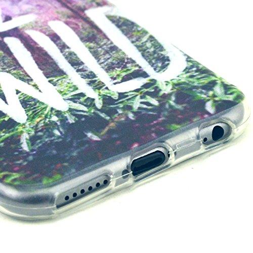 Etche TPU Housse pour iPhone 6/6S 4.7 pouces,Étui Coque Housse Pour iPhone 6/6S 4.7 pouces,coloré imprimé couvercle du boîtier de caoutchouc de silicone pour iPhone 6/6S 4.7 pouces + 1x Bleu style + 1 Pattern #33
