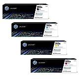 HP Color Laserjet Pro MFP M281fdw original Tonerkit 203A - CF540A / CF541A / CF542A / CF543A