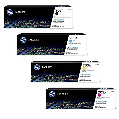 HP Color LaserJet Pro M254nw original Tonerkit 203A - CF540A / CF541A / CF542A / CF543A - Hewlett Packard Color Laserjet