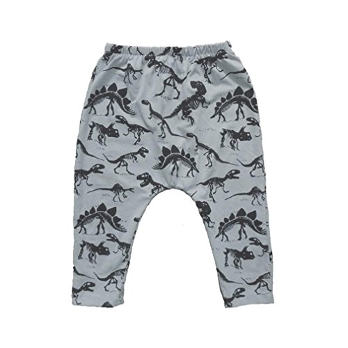 Image of Lovely Trousers,Tefamore Toddler Baby Boy Dinosaurs Print Elasticity Long Pants(24M)