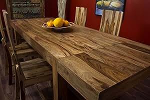 Esstisch,Erweiterbar,Massiv,Holz,160x90 /240x90,Bali,Küchentisch,Holztisch,Natur