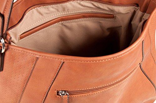 PICARD - Tasche CHARMING schwarz, 2419 Cognac